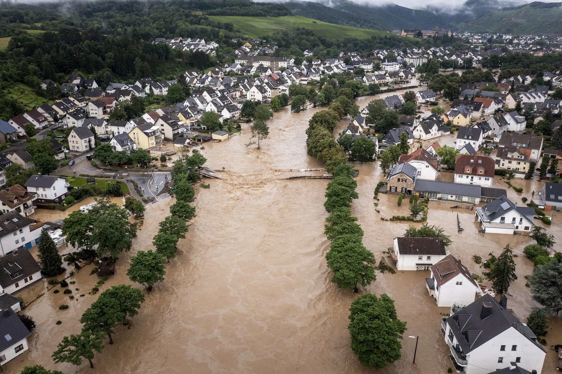 Hochwasserkatastrophe